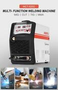 Smart Portable 4 In 1 Welding Machine Mig/tig/cut/mma Welding Without Gas Multi