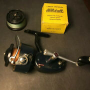 Vintage 1965 Mitchell Garcia 400 High Speed Spinning Reel W/ 2 More Spools 1 New