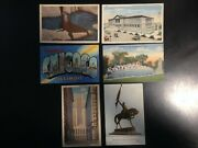 0429 11 Postcard Lot, Chicago, Zoo, Parks, Good Condition, Vintage.