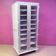 Stanley Innerspace Large Clear 2 Door Medical Proc Cabinet Supply Storage Stand