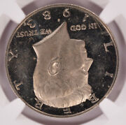 Ngc 50c 1983-s Proof Kennedy Half 180 Degree Rotated Dies Pf61 Ultra Cameo