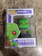 Funko Pop Dc Martian Manhunter 18 Rare Vaulted Grail With Pop Stacks In Hand