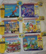 Leap Frog My First Leap Pad Books And Cartridge Lot Of 6 Preschool