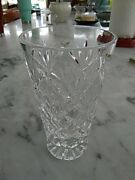 Waterford Crystal Giftware 5 7/8 Tall Flower Vase Excellent Condition, Signed