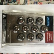 """Ameroc Oil Rubbed Bronze Round Cabinet Or Drawer Knobs - 10 Pc - 1 1/4"""" Diameter"""