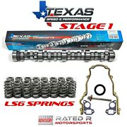 Texas Speed Vortec Ls Truck Stage 1 Cam Kit Gm Ls6 Valve Springs And Gaskets 5.3l