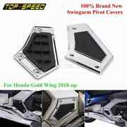 Chrome Motorcycle Accessories Swingarm Pivot Covers For Honda Goldwing Gl1800 18