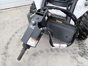 New Bobcat 15c Auger Drive Unit, 2 Hex Drive,fits Many Model Skid Steers And More