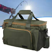 Fishing Tackle Large Bag Pack Outdoor Waist Shoulder Tote Lure Storage Bags Box