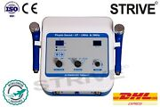 Ultrasound Therapy Machine 1/3mhz Portable Chiropractic Compact Modal Unit