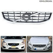 Fit For 2011-13 Volvo S60 4-door Front Center Grille Replacement 30795039 Us New