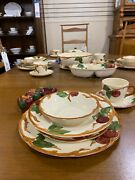 Franciscan Vintage Apple Pattern 135 Piece Grouping Gladding Mcbean And Co.1953-58