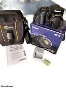 Canon Powershot Sx530 Hs 50 X Zoom 16 Mp Digital Camera Black With Carry Case