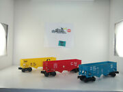 Lionel 3 Hoppers 9016-9013-9011 Be-44