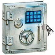 Peaceable Kingdom Vault Door 6.25 Lock And Key, Lined Page Diary For Kids...