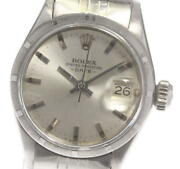Rolex Oyster Perpetual Date 6519 Cal.1161 Automatic Ladies Watch_606437
