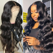 13x4 Body Wave Lace Front Wig Human Hair Wig Plucked Short Bob Full Frontal Wig