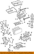 Lincoln Ford Oem 03-05 Ls-valve Cover Gasket 4r8z6584aa