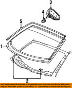 Lincoln Ford Oem 98-02 Continental Windshield-compass F7oz19a548aa