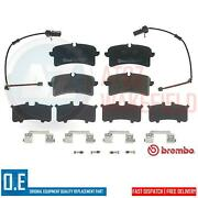 For Audi Rs6 Rs7 A7 A8 Bentley Mulsanne Porsche Macan Rear Brembo Brake Pads