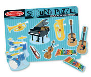 Melissa And Doug Musical Instruments Sound Puzzle - New