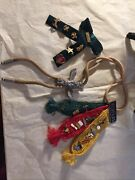 Lots Of Boy Scout Items, Ribbon Webelos, 26 Pins Totem Bolo Tie