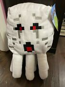 Minecraft Ghast Pillow Buddy Plush 15 Inch New With Tags Figure Ghost Squid
