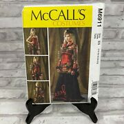 Mccalls M6911 Corset Dress/skirt Halloween Cosplay Costume Sewing Pattern
