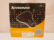 Lenovo Mini Handheld Wireless Keyboard With On-board Mouse N5901