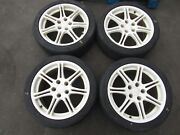 Jdm 02-05 Honda Civic Type R Ep3 Wheels Rims And Tires 17×7 Offset 45 5×114.3 2