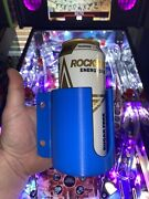 Pinball Machine Cup/drink/pop/soda Holder Front Or Side Mount - Blue