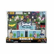 Roblox Rog0177 Celebrity Collection-adopt Me Pet Store Deluxe Playset [includes