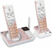 Atandt Cl82257 Dect 6.0 Expandable Cordless Phone With Answering Rose Gold