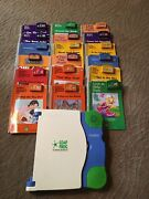 Leap Frog Leappad Learning System 18 Books And Cartridges Nice Used Condition