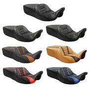 7 Styles Rider Passenger Pu Leather Seat Fit For Harley Street Road Glide 09-21