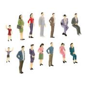 125 Scale Model Train Sitting/standing People Figures G Scale Figurines