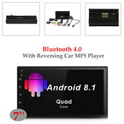 7 Car Bluetooth 4.0 Touch Screen Gps Wav Cell Phone Wifi W/reversing Mp5 Player