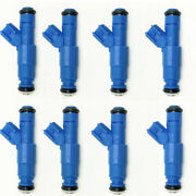 Set 8 6-hole Upgraded Ev1 Fuel Injectors For 2009-2010 Ford F-150 5.4l 22lbs