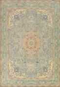 Floral Semi-antique Traditional Hand-knotted Area Rug Wool Oriental Carpet 10x13