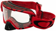 O2 Mx Goggles Oo7068-0600 Intimidator Blood Red Frame | Clear Lens