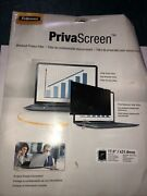 Fellowes 17andrdquo Priva Screen Blackout Privacy Filter New Lot Of 2 -11c