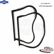 78-82 Corvette T-top Roof Weatherstrip Seal 18 Pins Latex Oe Quality - Pair