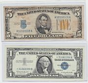 1934a 5 North Africa Note And 1957b 1 ⭐⭐⭐ Star Note 31660358 B Lot Of 1 Each