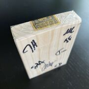 """Signed Limited Edition """"block Of Wood"""" April Fools Day 2021 By Jackson Robinson"""