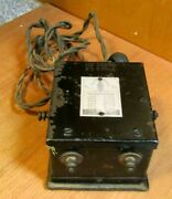 1920's Ives Toy Railroad Train Transformer Antique Old As Is