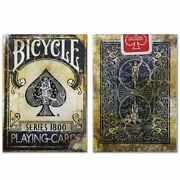 New Discontinued Bicycle Vintage Series 1800 Blue Playing Cards Ellusionist