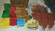 280+ Lincoln Logs Wood Building Blocks And Accessories Plus Train Frontier Express