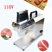 Commercial Countertop Electric Meat Tenderizer Steak Machine Stainless Steel