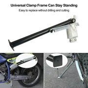 For Motorcycle Heavy Duty Off Road Bike 14 Universal Clamp On Side Kick Stand