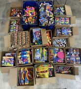 Mr Bubble Toy Collection Packaging Missing For Some Items Lot Sale